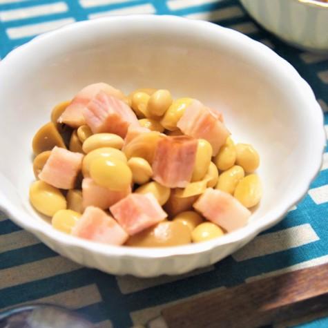 大豆の洋風煮