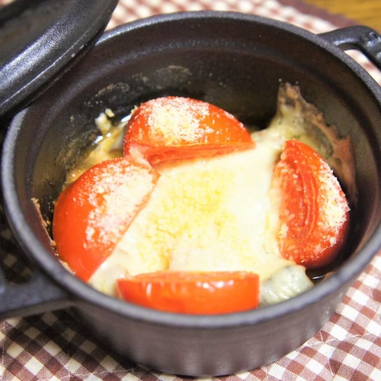 鯖味噌煮缶のチーズ焼き