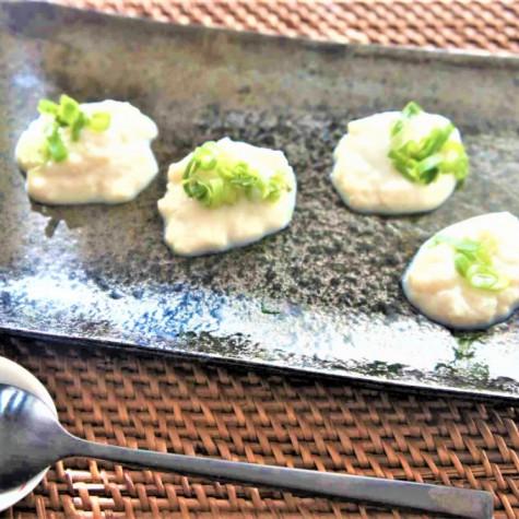 はんぺん豆腐の田楽風