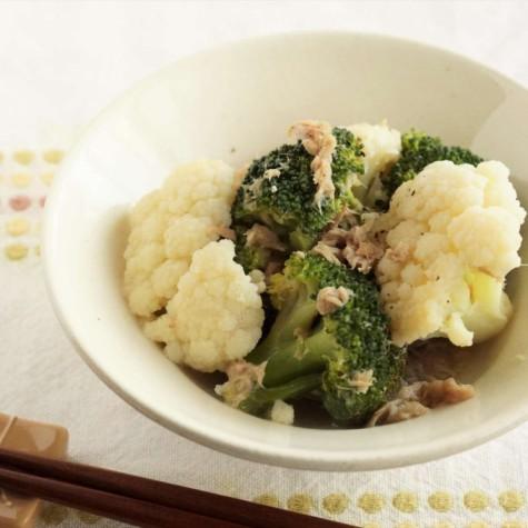 ツナと花野菜のさっと煮
