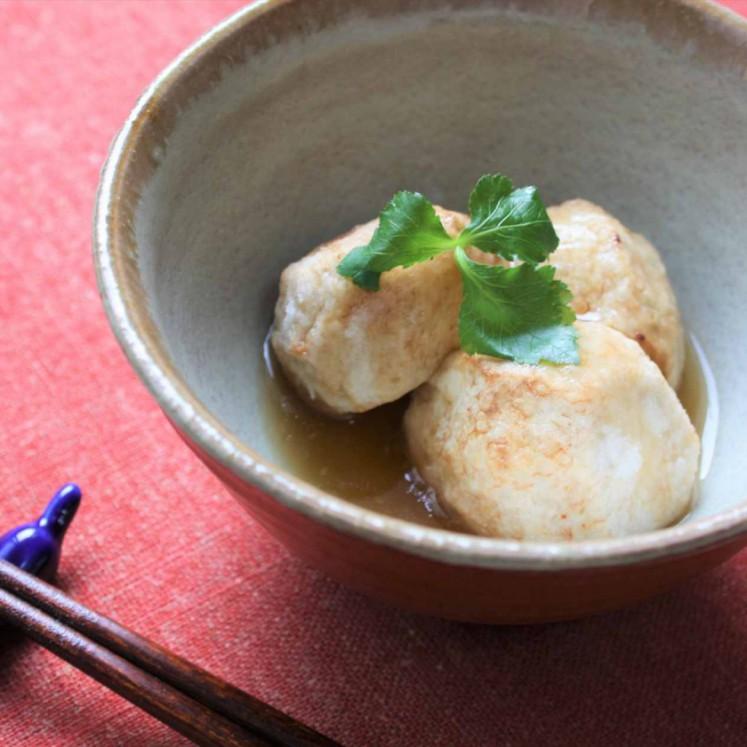 揚里芋の生姜あんかけ