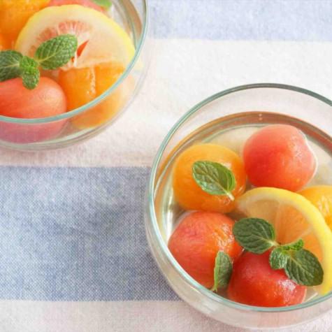 ミニトマトのはちみつコンポート