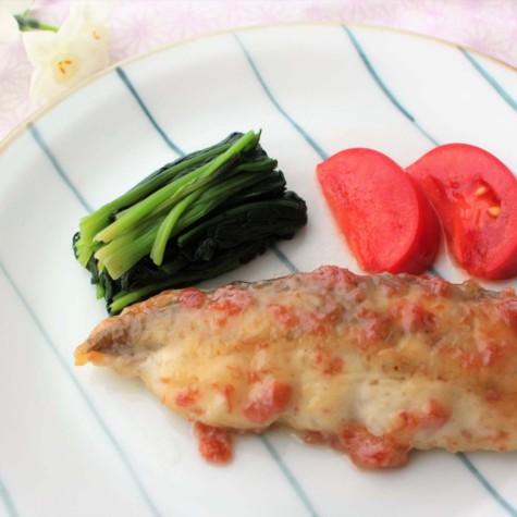 白身魚の梅マヨ焼き