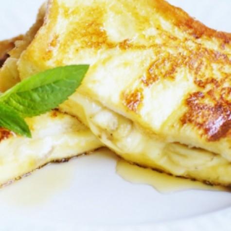 バナナチーズフレンチトースト