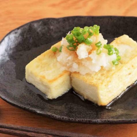 豆腐ステーキおろしポン酢味