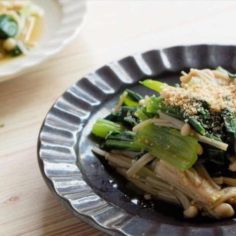 小松菜とえのきのお浸し