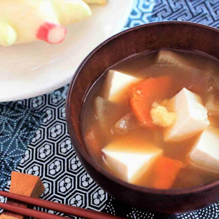 生姜みそ汁