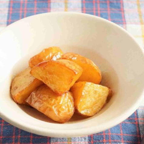 甘辛バターポテト
