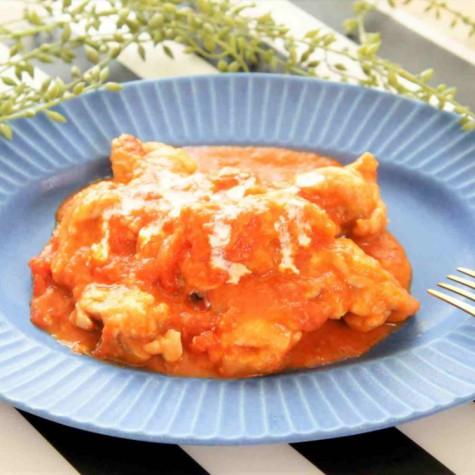 鶏のトマトクリーム煮