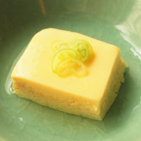 レンジで簡単 手作りたまご豆腐