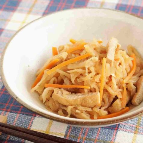 切干大根のレンジ煮