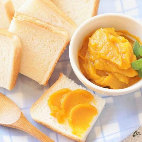 一口かぼちゃあんパン