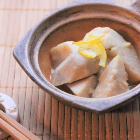 里芋のゆず味噌和え