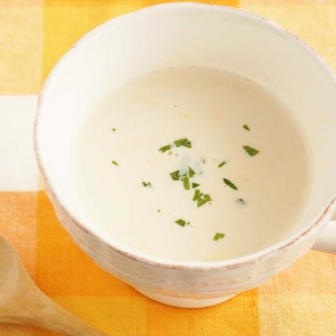 かき玉ミルクスープ