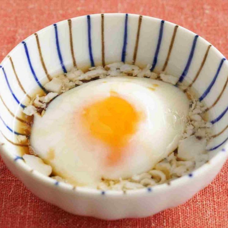卵 温泉 レンジ で