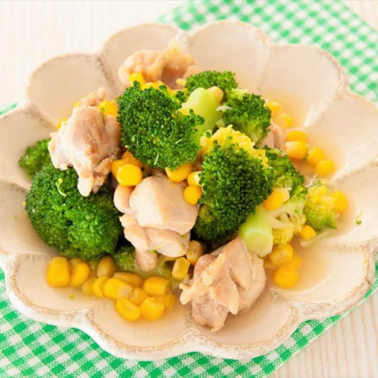 鶏とブロッコリーの和風煮
