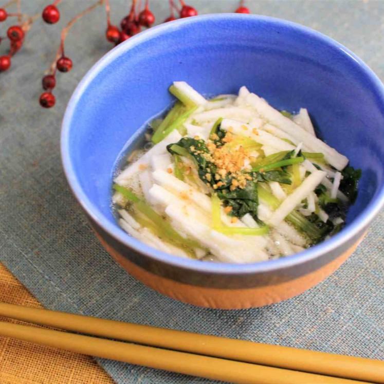 長芋と三つ葉の酢の物
