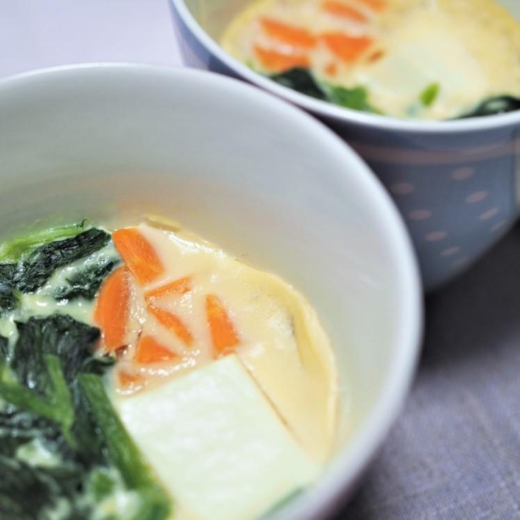 豆腐入り茶碗蒸し