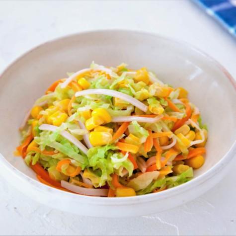 キャベツのホットコールスローサラダ