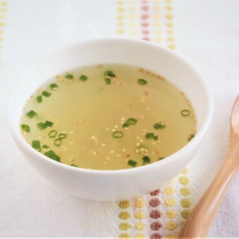 即席生姜スープ