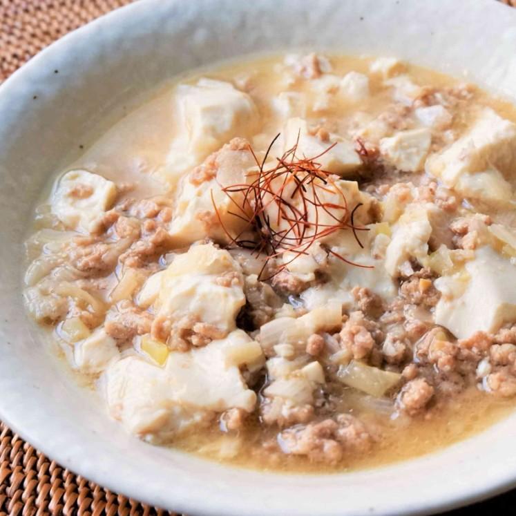 レンジで簡単マーボー豆腐
