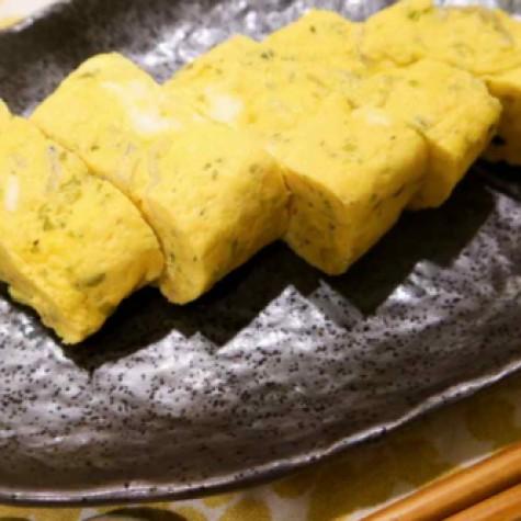 シラス入り卵焼き